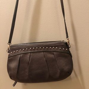 Brighton Pewter color crossbody bag